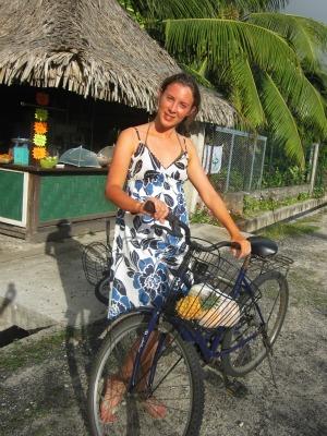 Cycling around the Island