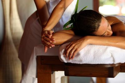 Bora Bora Spa massage