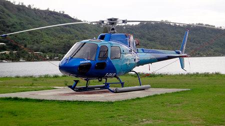 Bora Bora helicopter