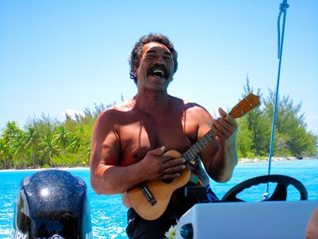 Tahitian ukulele