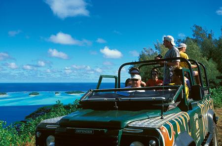 4x4 Bora Bora Tours