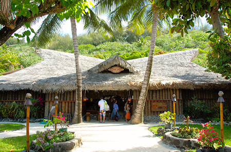 Bora Bora bloody mary's