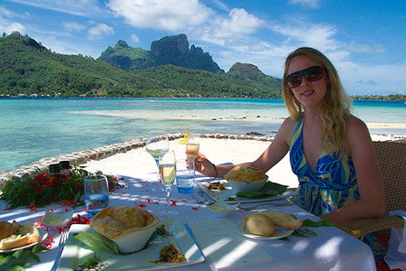 All inclusive Dining in Bora Bora