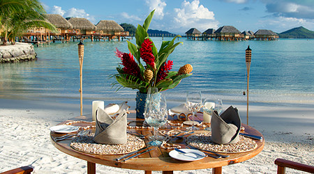 Tahiti Honeymoon Dinner