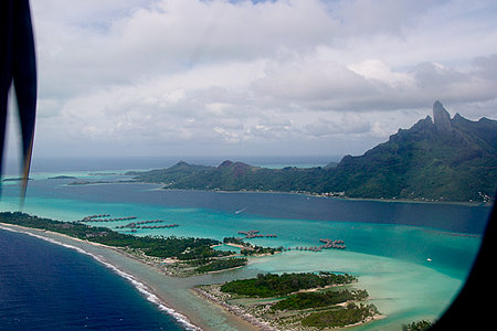 Flying to Bora Bora Airport