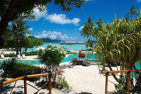 Bora Bora Hotel Garden