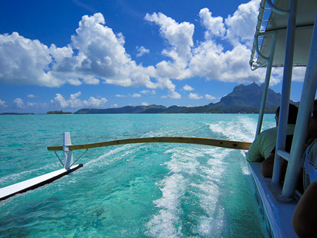 Bora Bora lagoon excursion