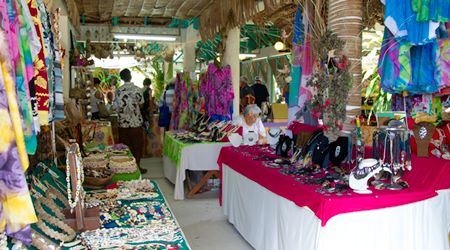 Christmas Bora Bora markets