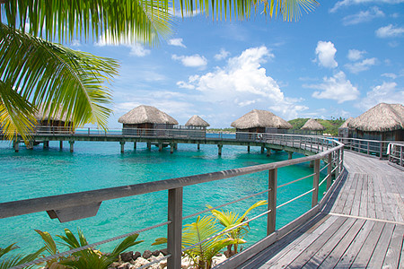 Bora Bora over water bungalow