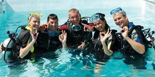 Dive Certification Pool
