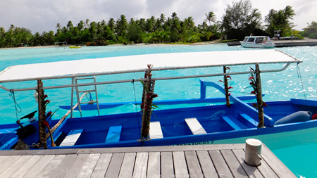 Bora Bora boat