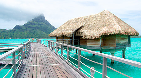 Intercontinental Bora Bora Thalasso Resort Over Water Bungalows