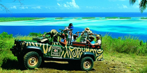 Paul Gauguin cruises Jeep Tour