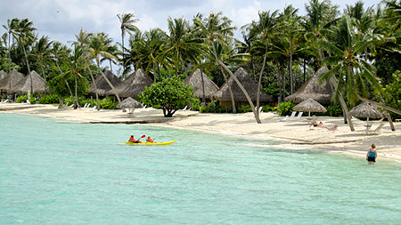Intercontinental Le Moana Bora Bora Beach Bungalows