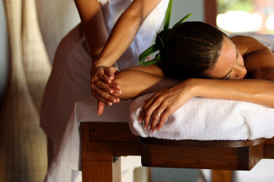 Bora Bora Spa massage