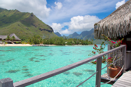 Moorea Over Water Bungalows For Affordable Romantic Tahiti