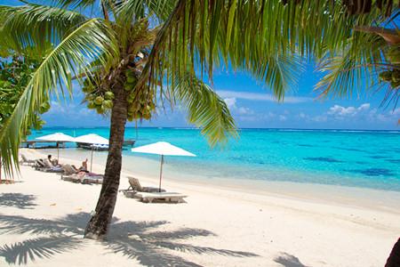 hilton Moorea beach