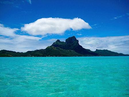 Bora Bora mt otemanu geography