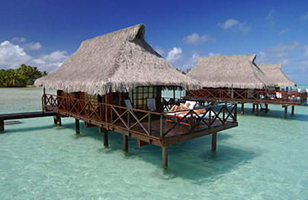 Tahiti Over Water Bungalow