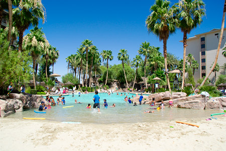 Tahiti village resort Las Vegas beach