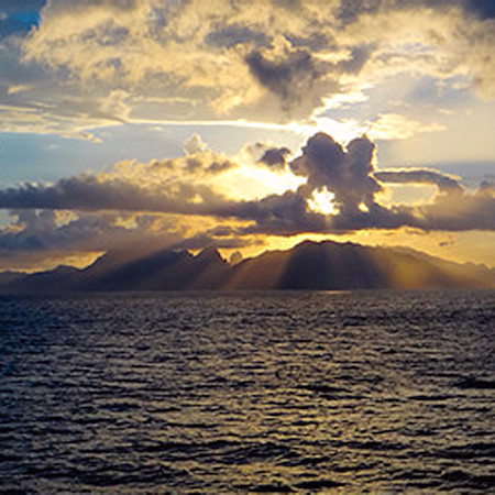 Bora Bora winter weather