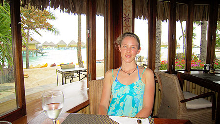 Intercontinental Le Moana Restaurant Bora Bora