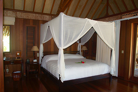 Hilton Bora Bora's Bungalows