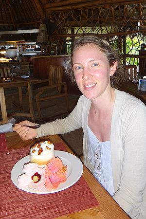 Hilton Bora Bora Vanilla sundae