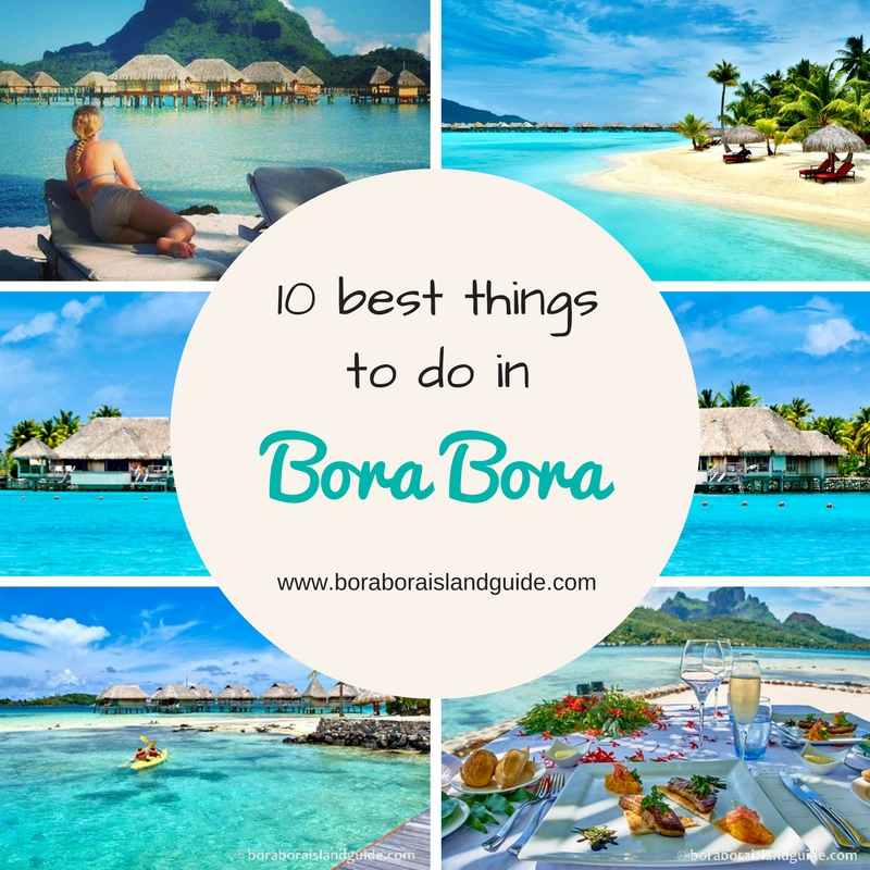We Know Vacation Time Is Precious So This List Shows The Very Best Things To Do In Bora