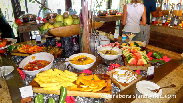 Breakfast buffet at the Intercontinental Thalasso Resort