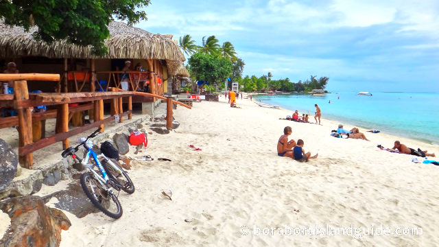 Bora Bora Attractions And Sights On The Circle Island Road Bora Bora