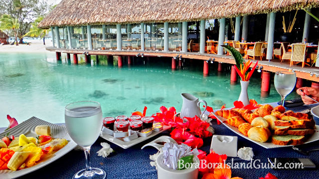 Breakfast At Le Merin Bora