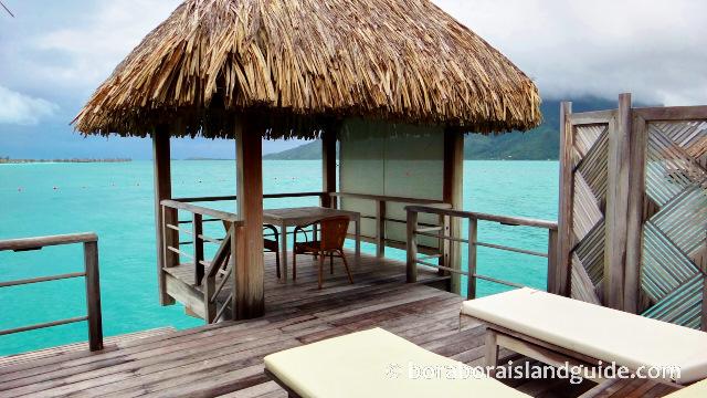 St Regis Bora Bora Over Water Villas Amp Bungalows Largest