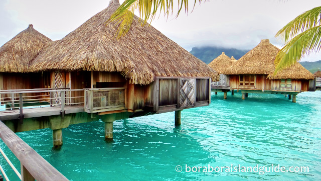 St Regis Bora Bora Over Water Villas Bungalows Largest In