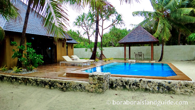 St regis Bora Bora Royal Ocean front villa with private pool