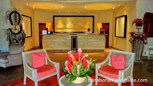 St Regis Bora Bora Reception