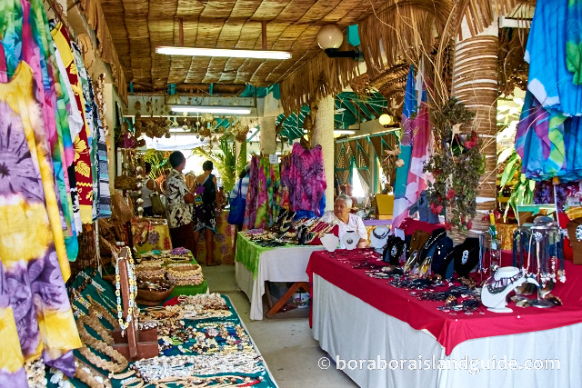 Information On Bora Bora Shopping
