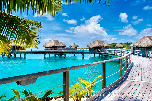 Over Water Bungalow Resort Stays For Tahiti Luxury Vacations