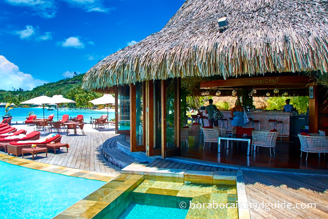 The Hurricane bar at Sofitel Marara Beach Bora Bora