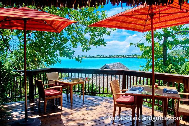 Sofitel private island restaurant