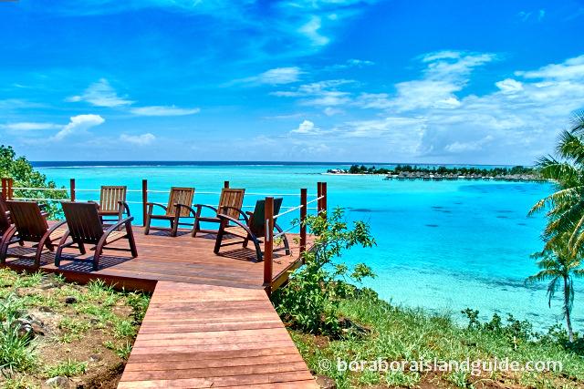 Sofitel Bora Bora hilltop lookout