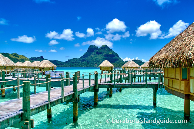 Bora Bora Hotels: Vacation Resorts in Tropical Island Paradise