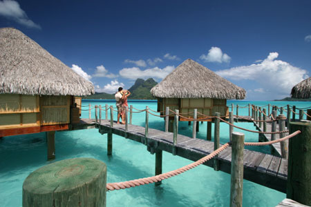 Bora Bora honeymoon resort