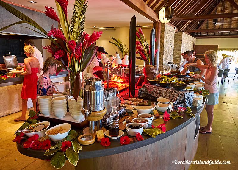 Four Seasons Bora Bora Breakfast