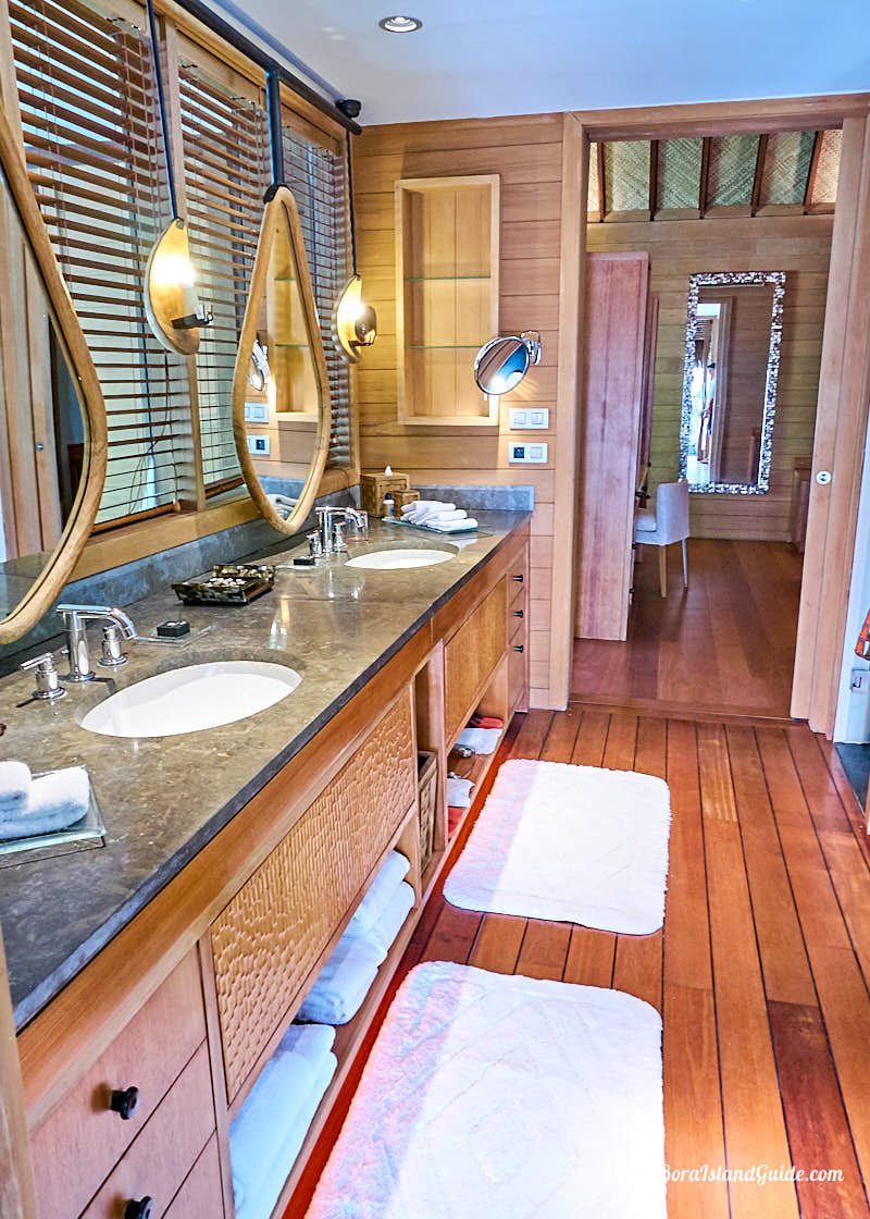 Next Door To The Bath Room There S A Separate Area With Private Shower And Vanities This Bathroom Steps Out Fairy Tale Setting An Outdoor