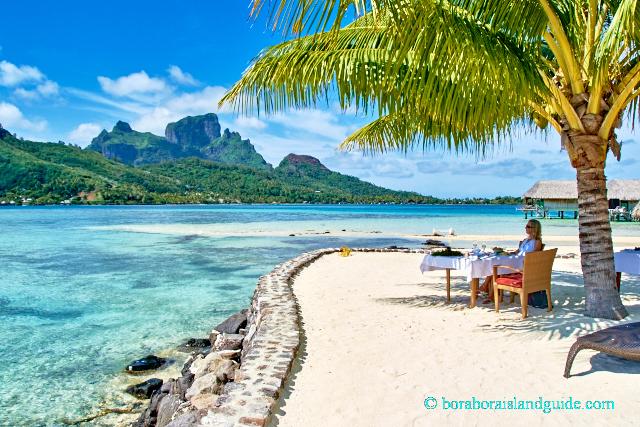Tahiti Romantic Vacation Ideas Sofitel Bora Bora Private Lunch