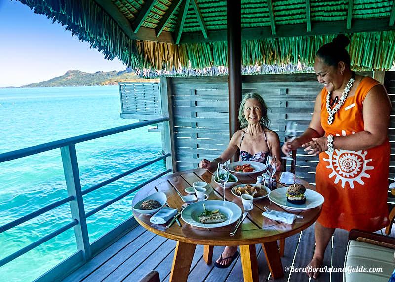 Bora Bora Four Seasons Dining And Restaurants