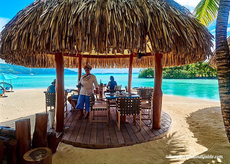 The House Of Friends Serves Lunch From 11am To 4pm It Has Covered Dining Decks On Sand Next Lagoon But You Can Also Order Your Sun Lounge