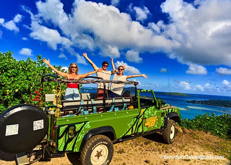 Bora Bora 4wd Tour