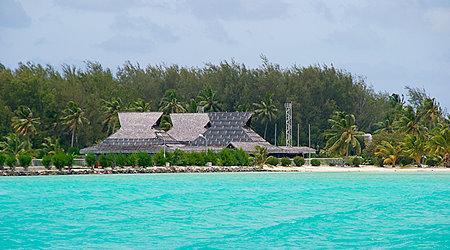 BOB Bora Bora Airport Motu Mute